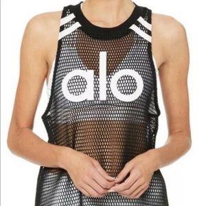 ALO yoga sleeveless net shirt